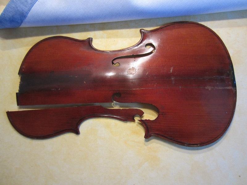 Geige Reparieren